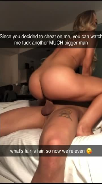 after your best friend cheated on his girlfriend, she used you to get revenge back at him when she recorded herself fucking you in your bed