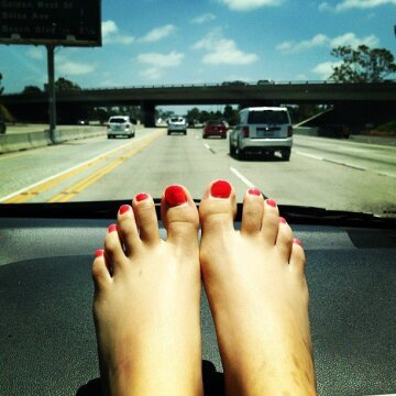 victoria justice : eyes on the road please ...