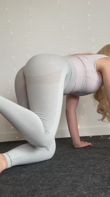 working on my hips flexibility