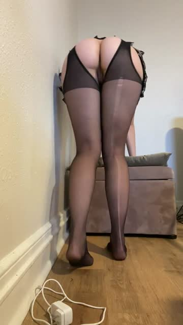 something sexy about pantyhose with rips in them