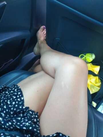 wife(43) sexy legs?