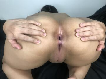 my ass up in the air and ready for your long and wet tongue!