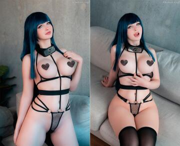 hinata wants to give you a little peak of what's underneath ~by mikomin