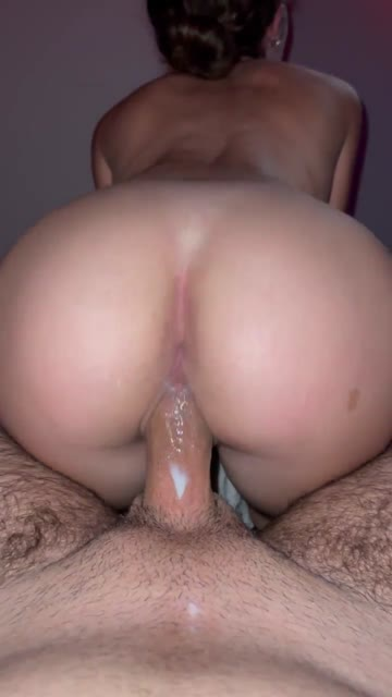 creaming all over his big cock