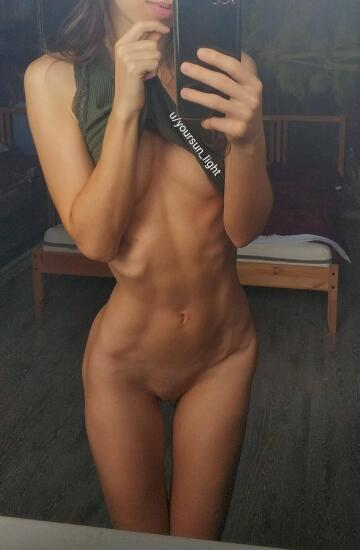 fit body and small boobies are the perfect combination, am i right?
