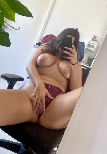 would you lick or cum inside my pink latina pussy?