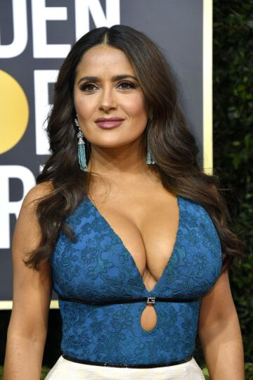 salma hayek would be the all time greatest titfuck