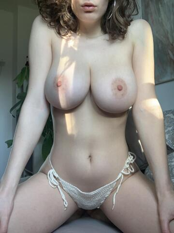 do you enjoy the look of my big pale titties?