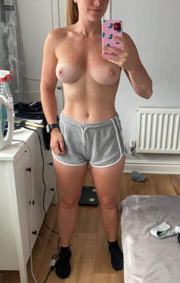 fit and firm in shorts as pjs [throwawaypussy5826]