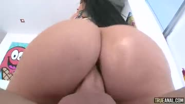 romi rain tattoed pawg with a big cock in ass