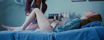 emily browning getting waxed
