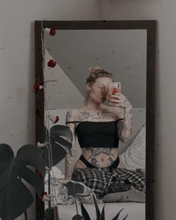 would you fuck me in front of my mirror?