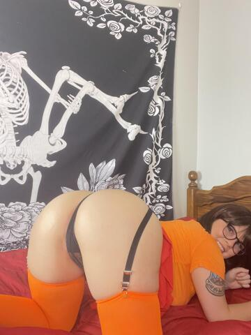 ass up and face down, now use this sexy velma (f) (oc)