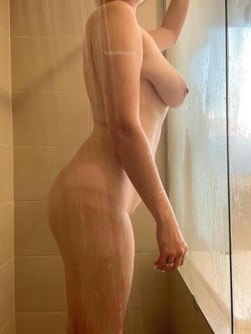 wet. soapy. slippery.