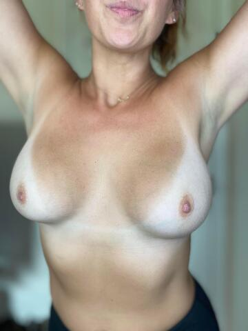any love for these mom boobs