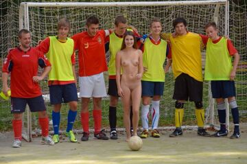 naked with the soccer team (album in comments)