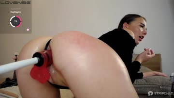 [julymoore] leaking from this anal toy