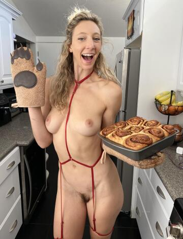 would you like to taste my buns?