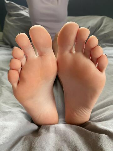 is it okey if i rest my feet infront of you?