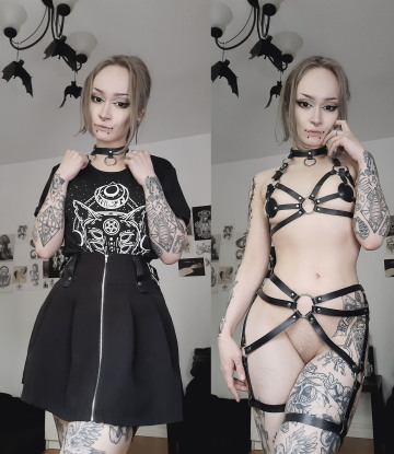 can i be your goth slut?