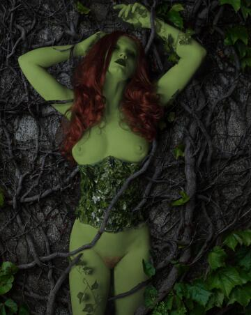 homemade poison ivy from dc comics by your virtual sweetheart