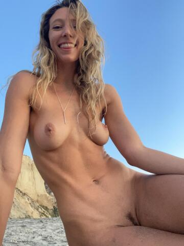 being naked at the beach is quite literally my favorite