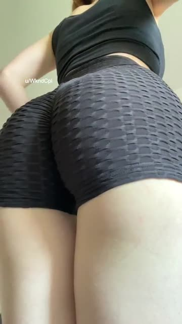 hope you like my ass in these sexy shorts