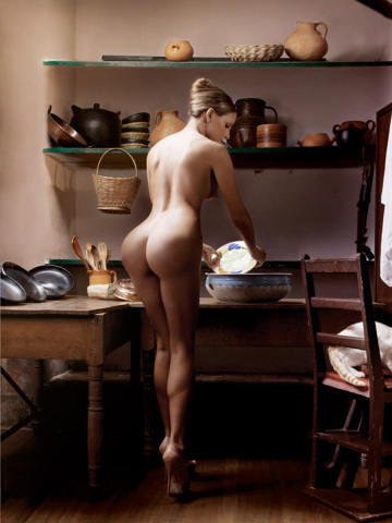 leave the washing up to the servants