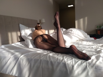 what about lazy sunday? me in tights, you naked... ;)