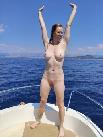 swimming naked and then fucking, off the coast of greece, was one of the best times of my life