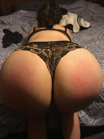 my place is bent over in front of you, to be used for your pleasure whenever you so choose.