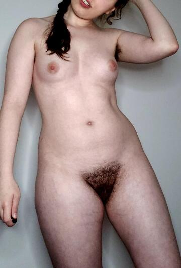 what do you think of my hairy pussy? ;)