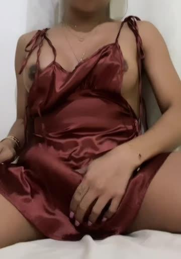 do you like my silk dress?