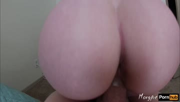 reverse cowgirl massive dripping creampie