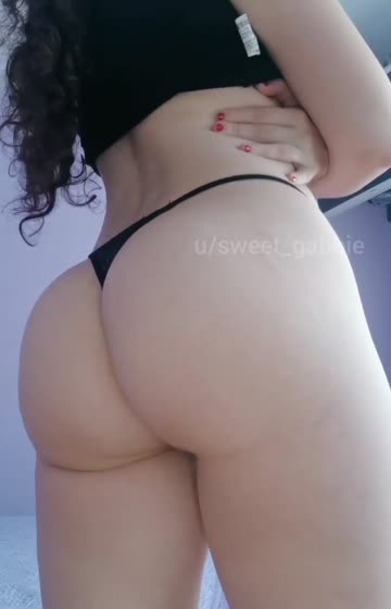 too much booty for such a small thong