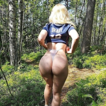 hiking in thongs. would love some company