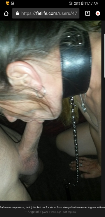 wifey being a good lil slut taking daddy's 8in in her throat!