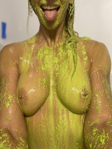 i could play with slime all day