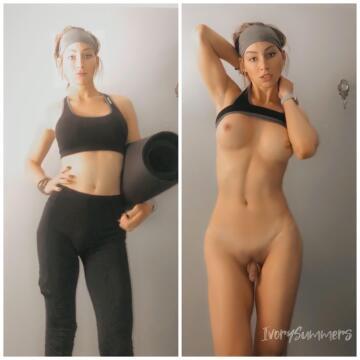 yoga on/off (tsivorysummers)