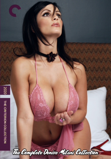 denise milani criterion collection cover concept