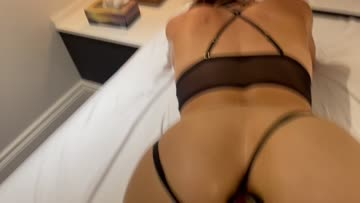 husband blows his load after watching me receive a creampie from my bull