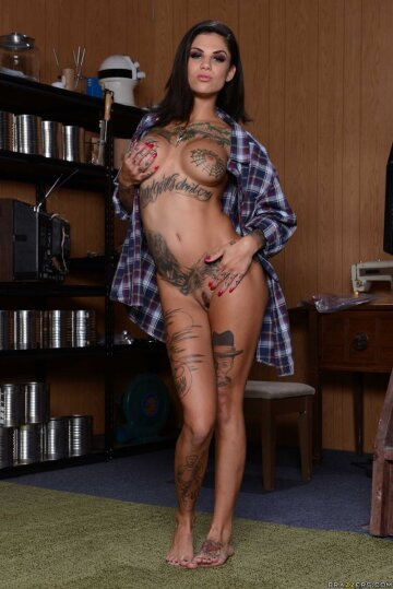 hot and sexy tattoed body