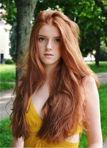 kristen stewart as a redhead