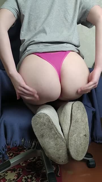 want to pull my panties to the side?
