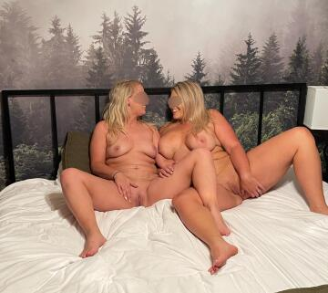 we hope you can handle two milfs like us!