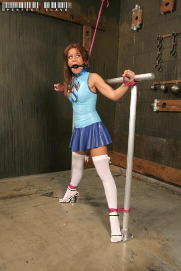 latex schoolgirl in detention