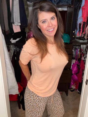 she dresses average-mom, but i don't really think she's fooling anyone