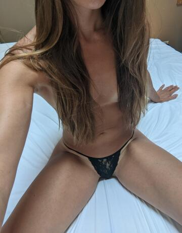 want me to try on all of my thongs for you?