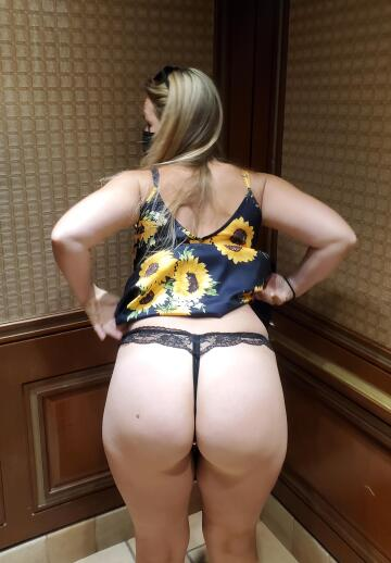 begging for it in the elevator