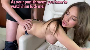 it's your fault for betting away your girlfriend! [hotwife]